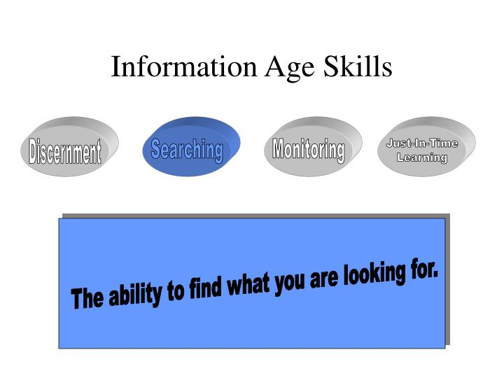 Information Age Skills