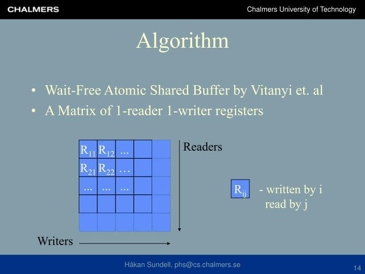Wait-Free Atomic Shared Buffer by Vitanyi et. al