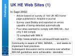 uk he web sites 1