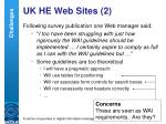 uk he web sites 2
