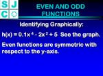 even and odd functions1