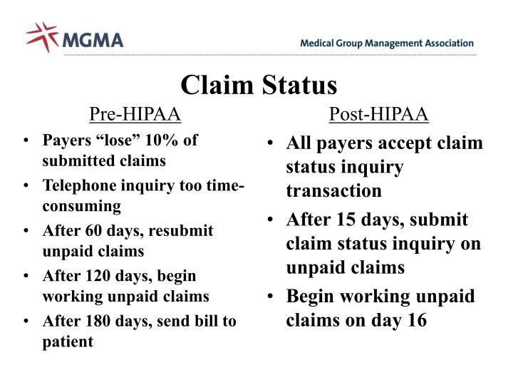 Pre-HIPAA