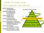 3 jubilee economics in the acts community acts 2 42 44