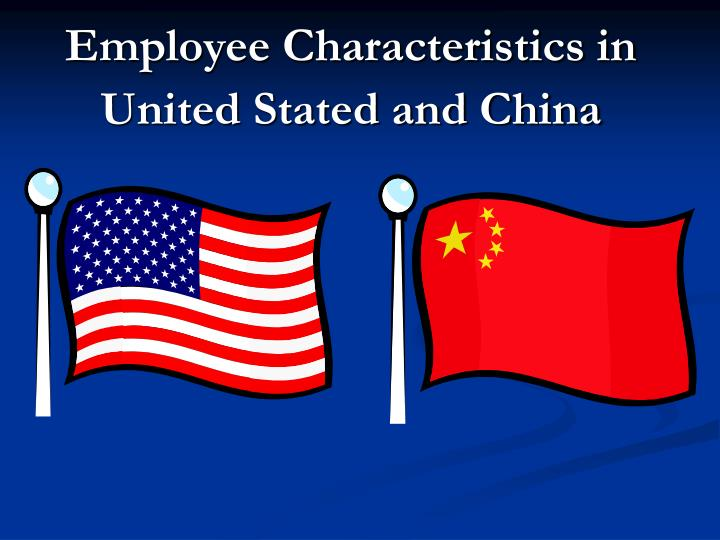 Employee Characteristics in