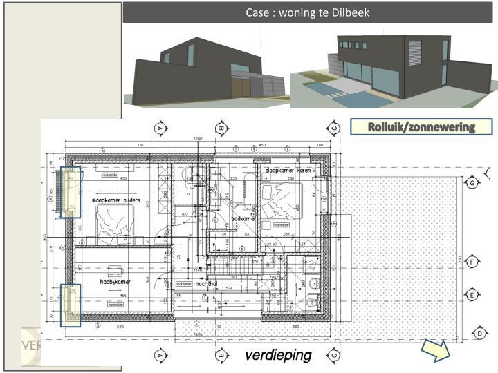 Case : woning te Dilbeek