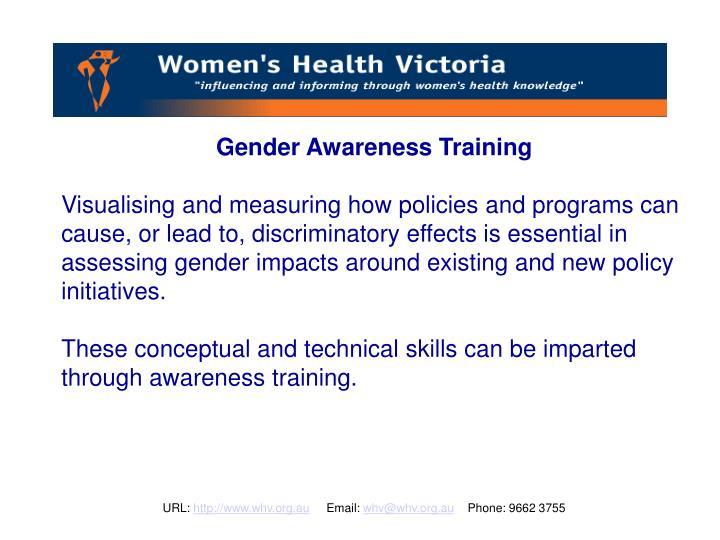 Gender Awareness Training