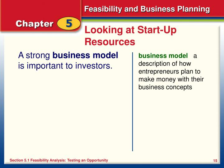 Looking at Start-Up Resources