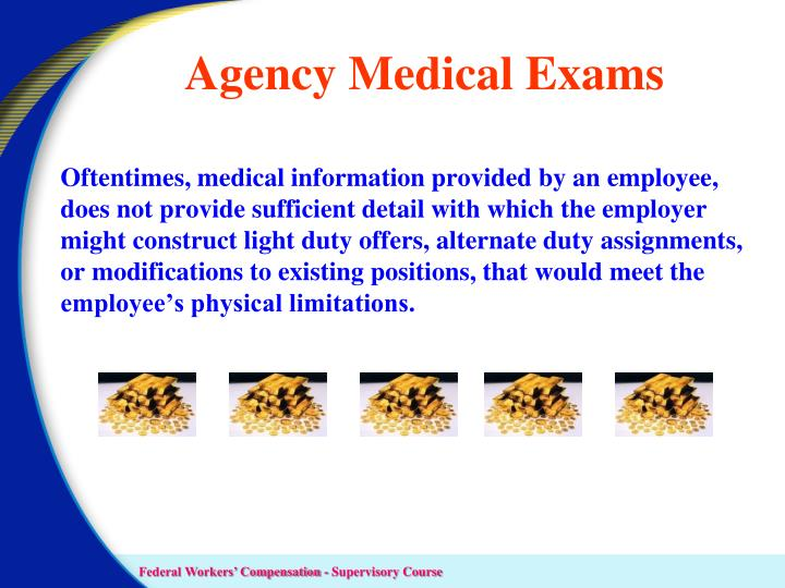 Agency Medical Exams
