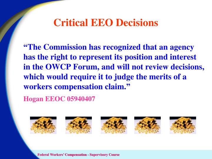 Critical EEO Decisions