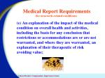 medical report requirements for non work related conditions2