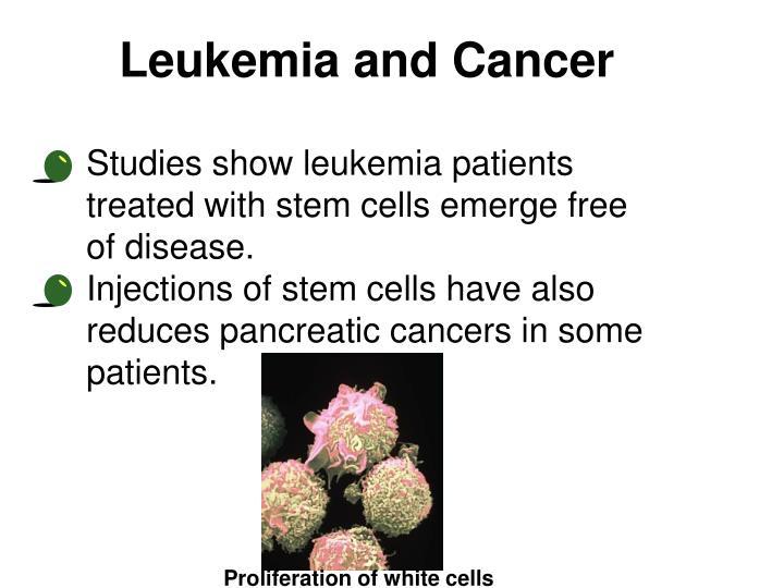 Leukemia and Cancer