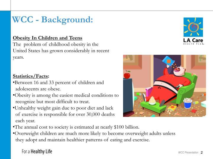 WCC - Background: