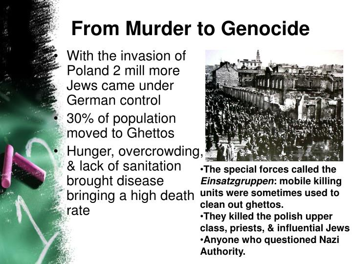 From Murder to Genocide