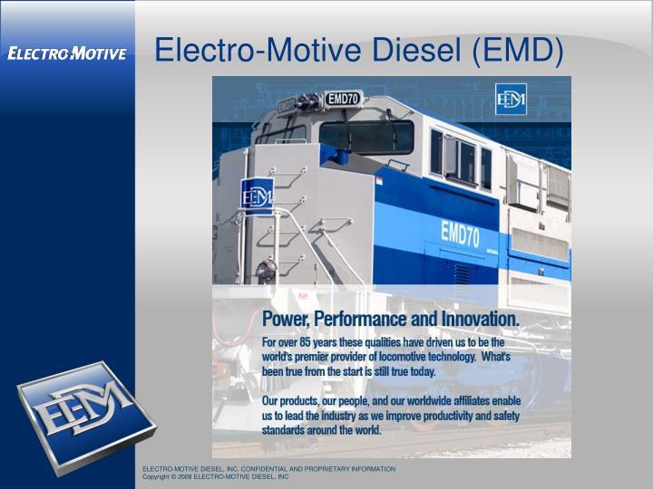 Electro-Motive Diesel (EMD)