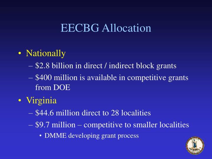 EECBG Allocation