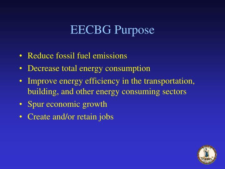 EECBG Purpose