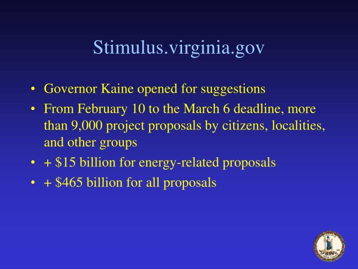 Stimulus.virginia.gov