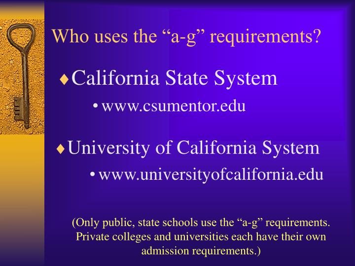 California State System