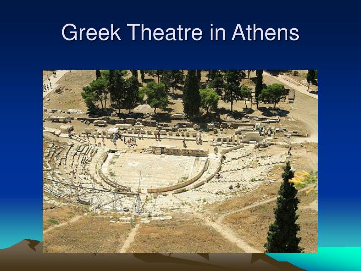 Greek Theatre in Athens