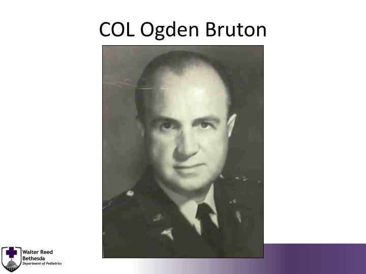 COL Ogden