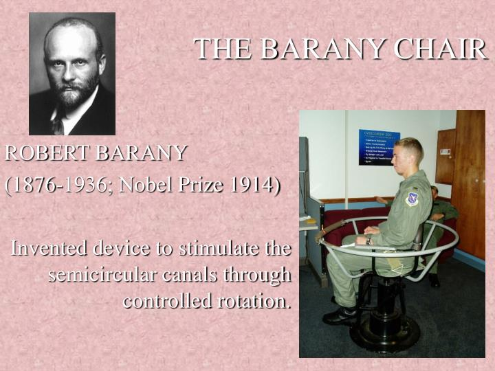 The barany chair
