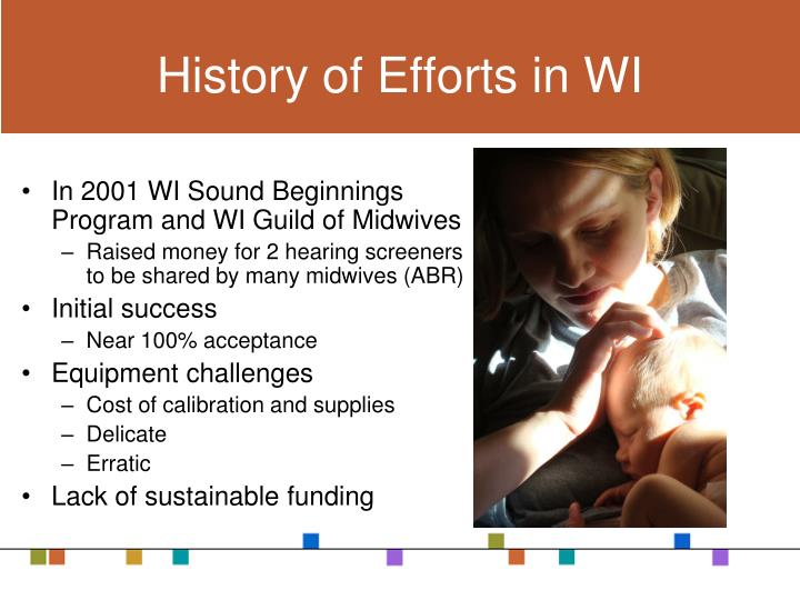 History of Efforts in WI