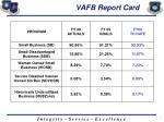 vafb report card