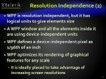 resolution independence 2