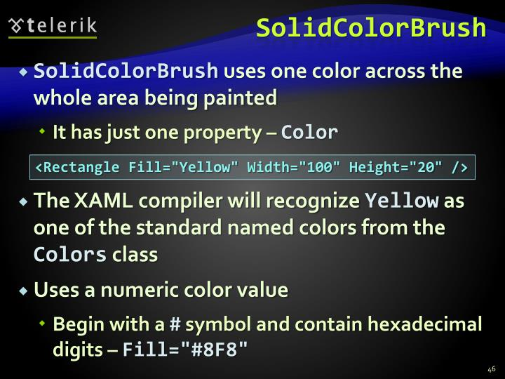 SolidColorBrush