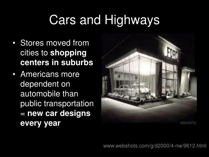 Cars and Highways