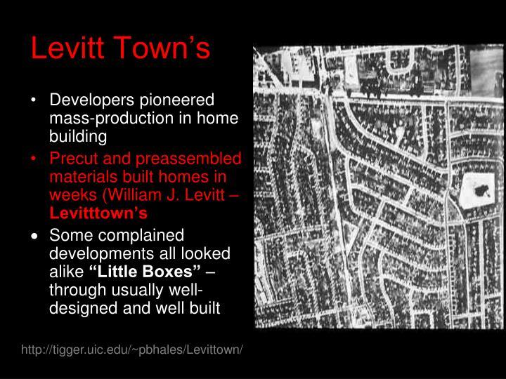 Levitt Town's