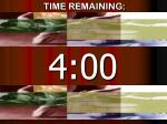 time remaining11