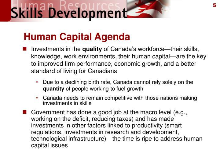 Human Capital Agenda