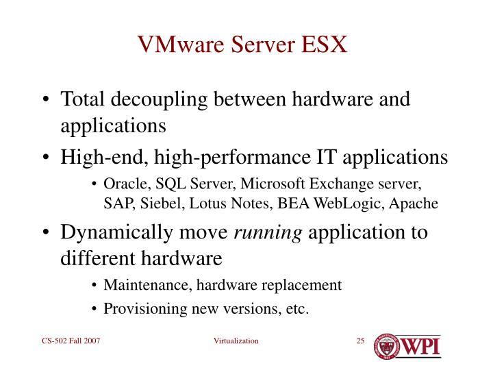 VMware Server ESX