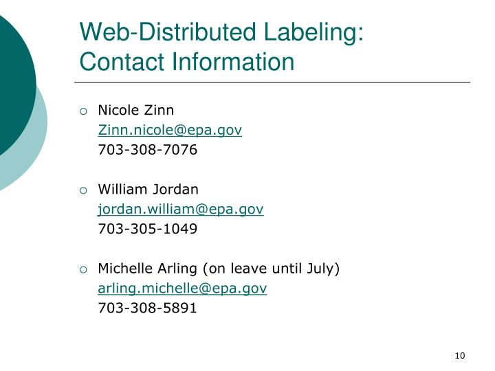 Web-Distributed Labeling: