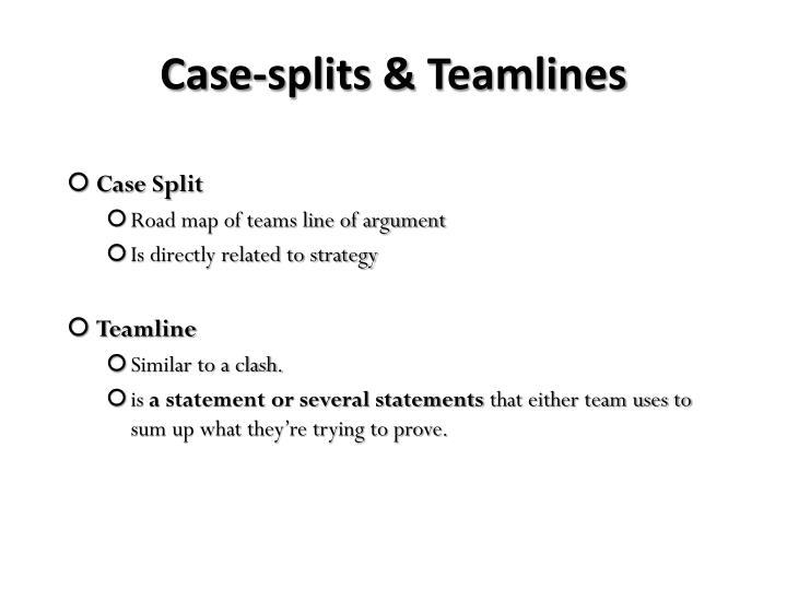 Case-splits &