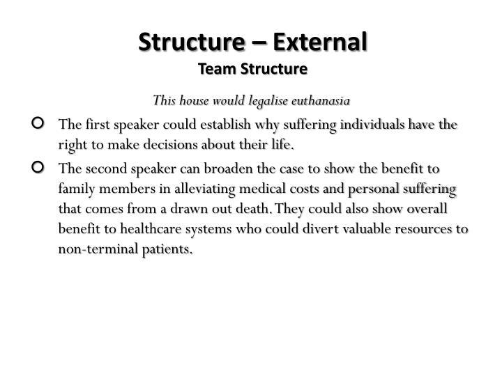 Structure – External