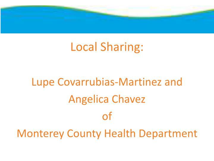 Local Sharing: