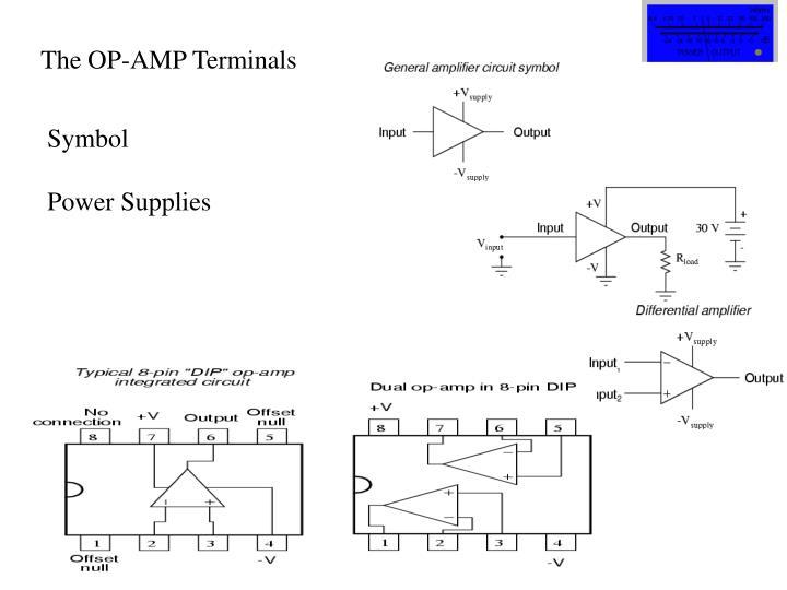The OP-AMP Terminals