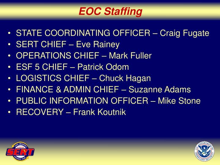EOC Staffing