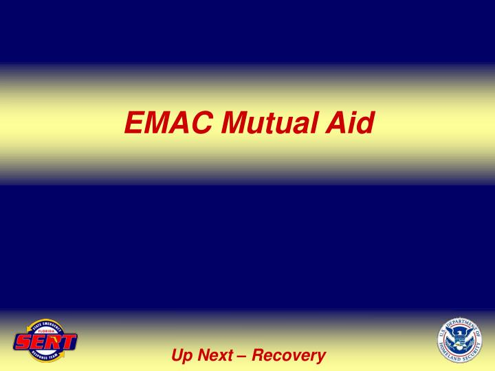 EMAC Mutual Aid