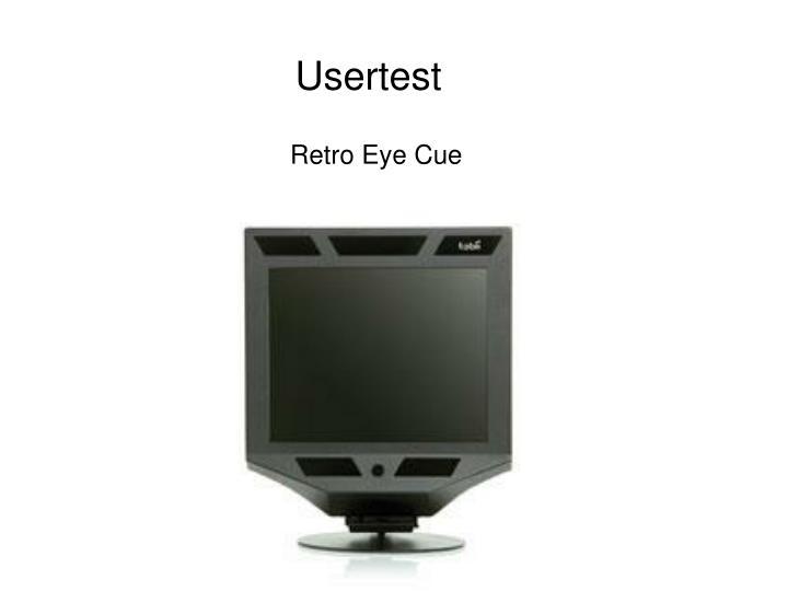 Usertest