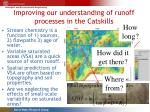 improving our understanding of runoff processes in the catskills