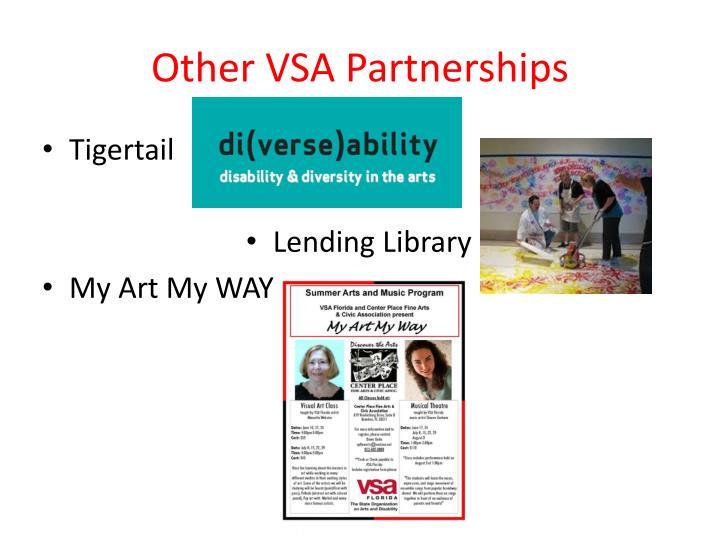 Other VSA Partnerships