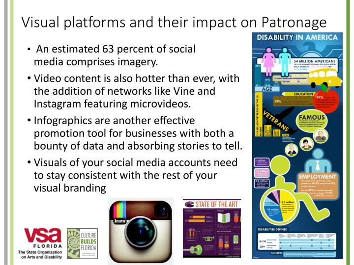 Visual platforms and their