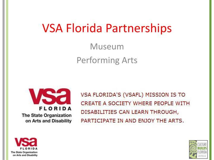 VSA Florida Partnerships