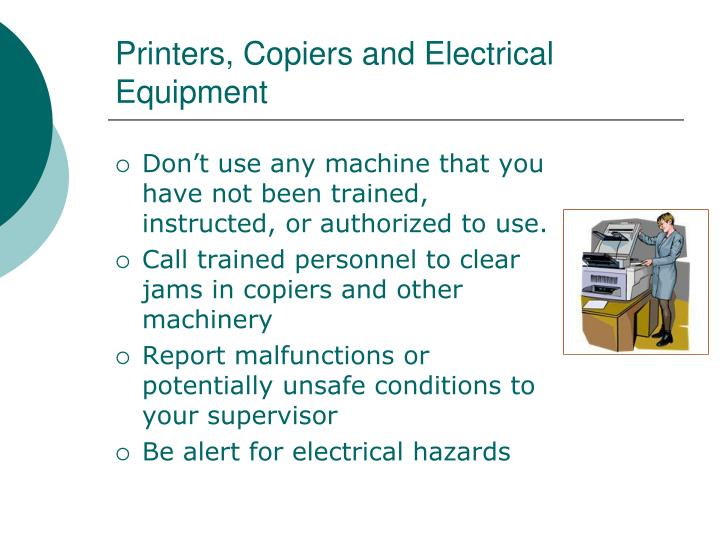 Printers, Copiers and Electrical Equipment