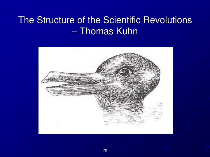 The Structure of the Scientific Revolutions – Thomas Kuhn