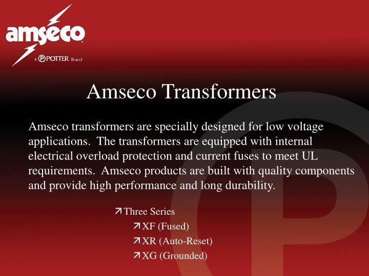 Amseco Transformers