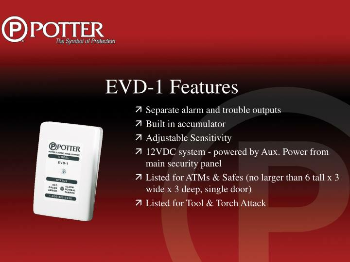 EVD-1 Features